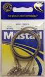 "Mustad Wire Leaders 36"" 45lb WL3645 Duolock Snaps"
