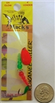 Mack's Kokanee Killer Spinner Bait #6 Hook 16210 Orange/Flo Green/Flo Orange