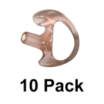 10 PACK of Semi-Custom Ear Molds - Molded Earpieces in Bulk - Select your size