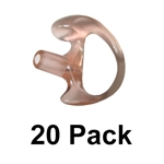 20 PACK of Semi-Custom Ear Insert EarMold - Molded Earpiece - Select your size