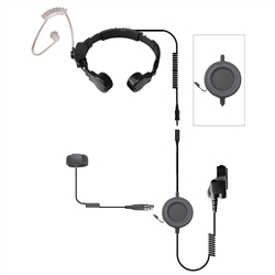 Assault-PRO Tactical Throat Mic Headset