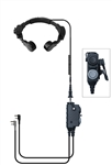 Assault NX Dual PTT Tactical Throat Mic