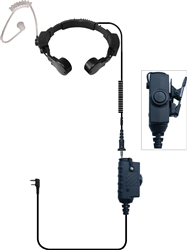 Assault NX Single PTT Tactical Throat Mic