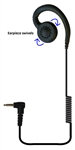 Crew Jr 3.5 Swivel Type Listen-Only Earpiece for 2-Way Motorola Radios