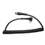 MRC-M Replacement Modular Mic Cord for Motorola 2-Pin Radios