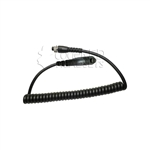 MRC-M7 Replacement Modular Mic Cord for Motorola TURBO Radios