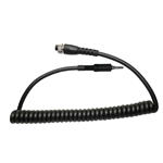 MRC-Y7 Replacement Tactical Microphone Cord for Y7 Yaesu FT-270R 3.5mm threaded Radios.