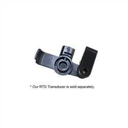 RTDC Black Transducer Housing for a Clear Tube Microphone