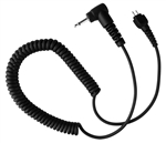 "Silent Jr 2.5 mm Replacement 14"" Coiled Cord"