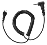 "Silent Jr 3.5 mm Replacement 14"" Coiled Cord"