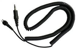 "Silent M2  Threaded 3.5 mm Replacement 26"" Coiled Cord"