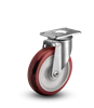 Medium Duty 5x1-1/4 Polyurethane Swivel Caster