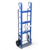 Heavy Duty Steel Appliance Hand Truck with Ratchet Strap and Reinforced Frame
