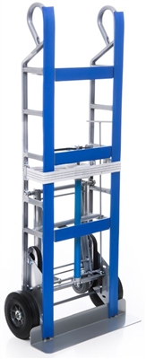 Steel Appliance Dolly with Swing Out and Ratchet Strap