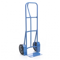 Steel Vertical Handle Hand Truck with 10in. Recycled Wheels
