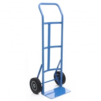 Steel Hand Truck 8in. Solid Wheels