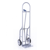 Steel Hand Truck with 8in. Mold On Wheels