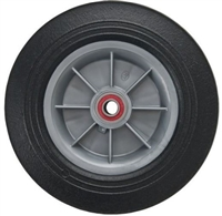 "10/"" x 2/"" Flat Free Hand Truck Dolly Wheel Only w//2.125/"" Offset Hub/&Ball Bearings"