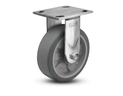 Stainless Steel Heavy Duty 5x2 Transforma HD Rigid Caster