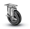Medium Duty 3 X 1-1/4 Polyolefin Swivel Caster