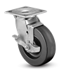 Heavy Duty 6x2 Phenolic Swivel Caster with Top Lock Brake