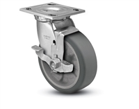 Heavy Duty 4X2 Transforma HD Swivel Caster with Top Lock Brake
