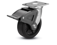 Heavy Duty 4x2 Transforma LT Swivel Caster with Total Lock Brake