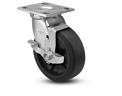 Heavy Duty 4x2 Transforma LT Swivel Caster with Top Lock Brake