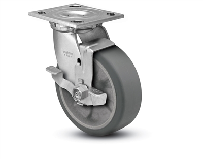 Heavy Duty 5X2 Transforma HD Swivel Caster with Top Lock Brake