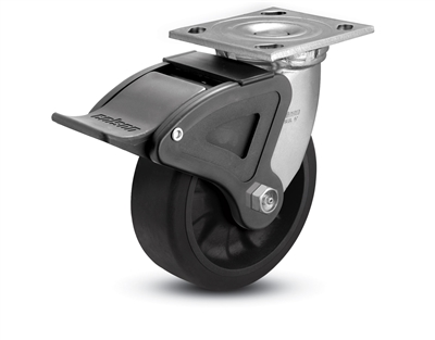 Heavy Duty 5X2 Transforma LT Swivel Caster with Total Lock Brake