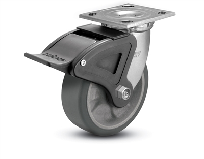 Heavy Duty 6X2 Transforma HD Swivel Caster with Total Lock Brake
