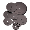 Standard Size Iron Weight Plates