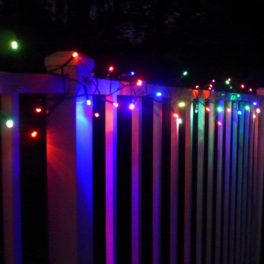 Color Changing String Lights Solar Outdoor Lights
