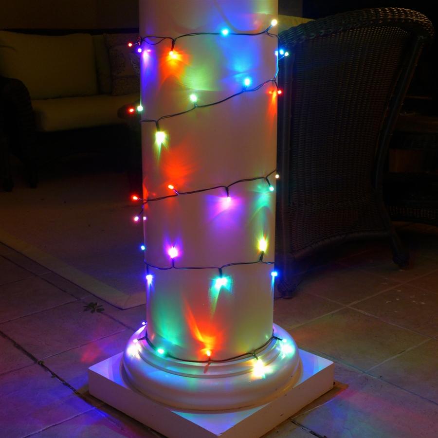 Color Changing String Lights | Solar | Outdoor Lights ...