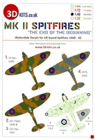 "3D-Kits 48-D002 - Mk II Spitfires ""The End of the Beginning"""
