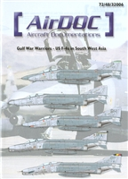 AirDOC 48006 - Gulf War Warriors - US F-4s in South West Asia