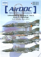 AirDOC 48018 - Luftwaffe RF-4E Phantom II, Part 2