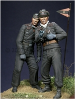 Alpine 35028 - Early WW2 Panzer Crew Set