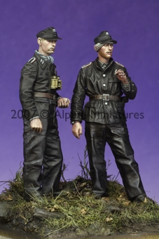 Alpine 35047 - Late War WSS Panzer NCO Set