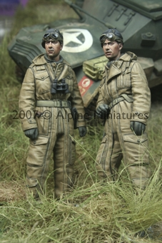 Alpine 35050 - WW2 British Tank Crew Set