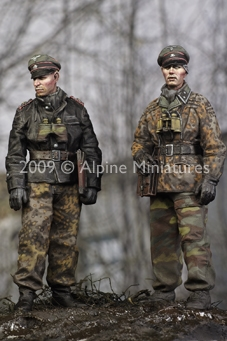 Alpine 35077 - LAH Officers in the Ardennes Set