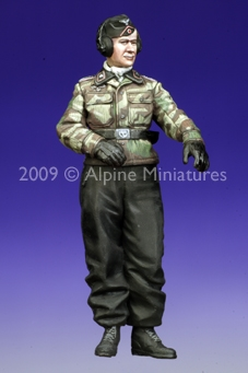 Alpine 35087 - German Panzer Commander