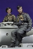 Alpine 35089 - German Panzer Crew Set (2 figures & Puppy)