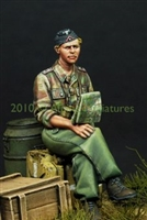 Alpine 35099 - German Panzer Officer in Summer