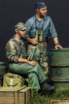 Alpine 35101 - German Panzer Crew in Summer Set