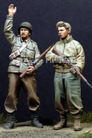 Alpine 35110 - WW2 US Infantry Set
