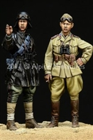 Alpine 35124 - WW2 Italian AFV Crew Set (2 figures)