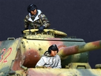 Alpine 35132 - German Panther Crew Set (2 figures)