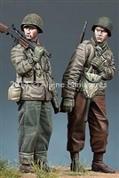 Alpine 35171 - WW2 US Infantry Set (2 figures)