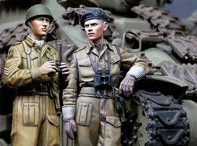 Alpine 35180 - British RAC AFV Crew Set (2 figures)